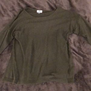 Sweaters - Olive green sweater